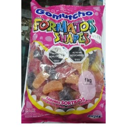 Gomutcho Formatos Shapes 1Kg