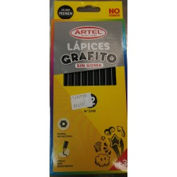 Caja Lapices Grafitos Artel...