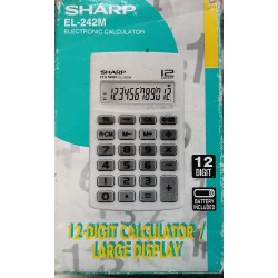 Calculadora digital sharp