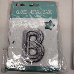 Globo metalizado metal A-Z...