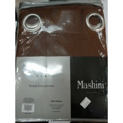 Cortinas café mashini 1 paño
